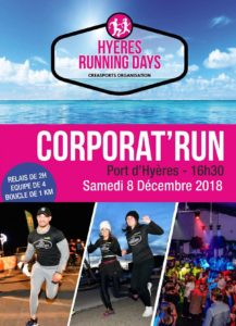 challenge entreprise Corporat-run-2018-hyères running days